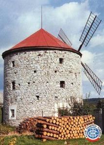 32. Rudice – větrný mlýn